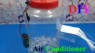DIY - How to make air conditioner at home - Easy Tutorials