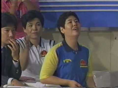 1988 Womens All America vs All Japan Games Bowling Exhibition part 8