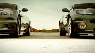 Aston Martin: DBS vs DB9 and Vanquish | Top Gear