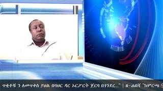 Hiber Radio Special Interview With Ayalew Mengesha