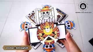 海贼王爆炸盒-One Piece Explosion Box DIY Handcraft