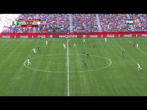 USWNT Nigeria 2015 Women's World Cup First Half Full Game US