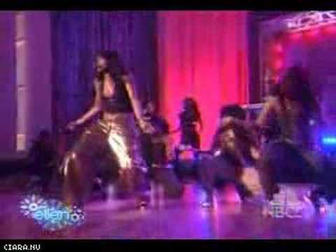 Ciara performs