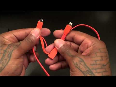 TYLT Syncable Duo Charge and Sync Cable Apple and Android
