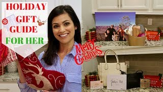 GIFT GUIDE FOR HER 2017 || 5 HOLIDAY GIFT IDEAS || HOLIDAY SHOPPING