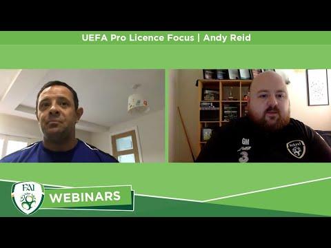 UEFA Pro Licence Focus | Andy Reid