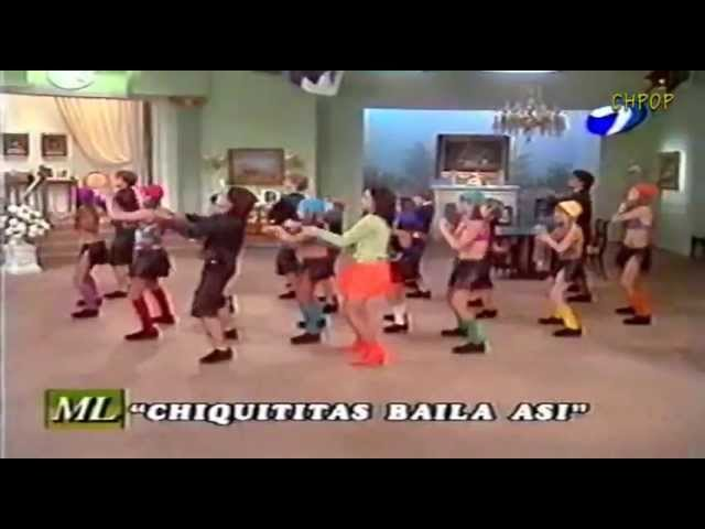 CHIQUITITAS BAILA ASÍ Mirtha Legrand 2001