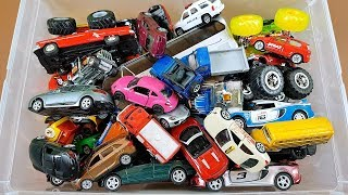 Cars in Box Siku Welly Kinsmart Hot Wheels Video for Kids