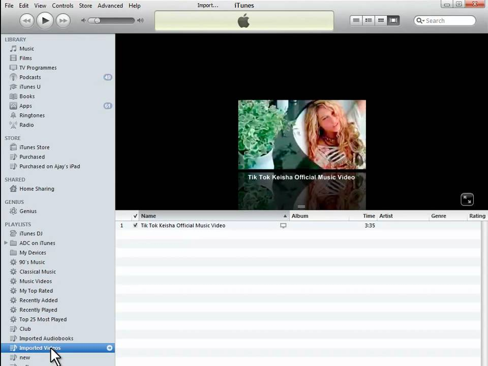 How to import movies to ipad windows theme maker