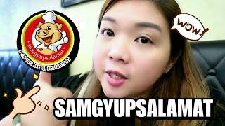 SAMGYUPSALAMAT KOREAN  FOOD ALL UNLIMITED l Simply Mitchie Vlog