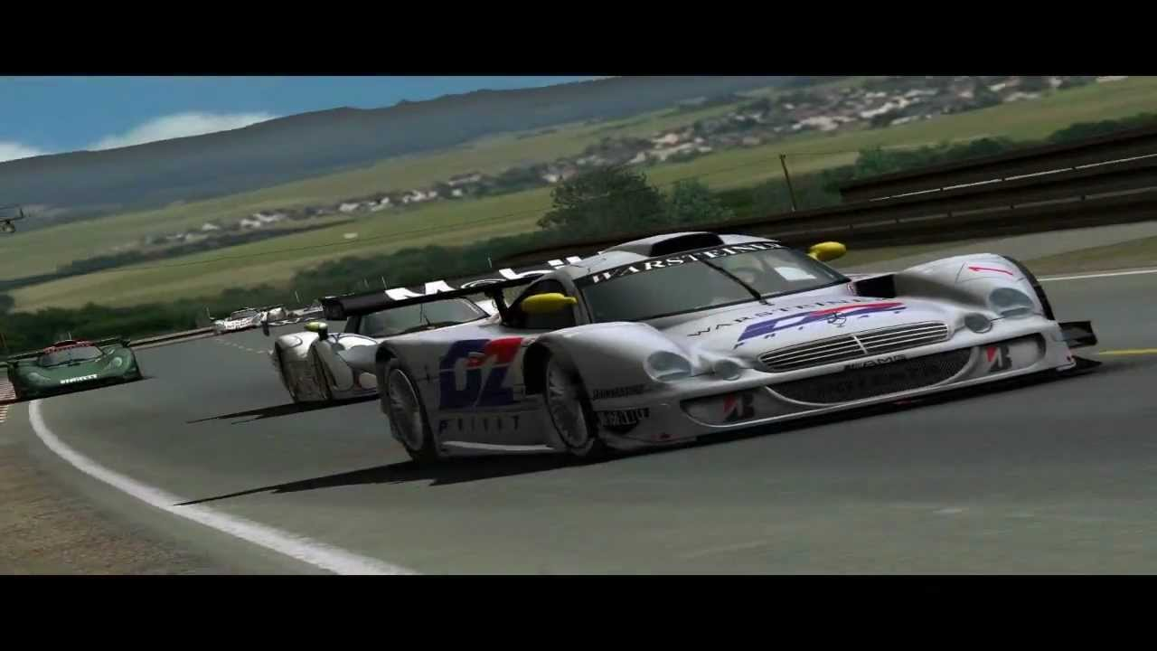 porsche 911 gt1 mercedes benz clk lm 1998 release trailer gtr2 youtube. Black Bedroom Furniture Sets. Home Design Ideas