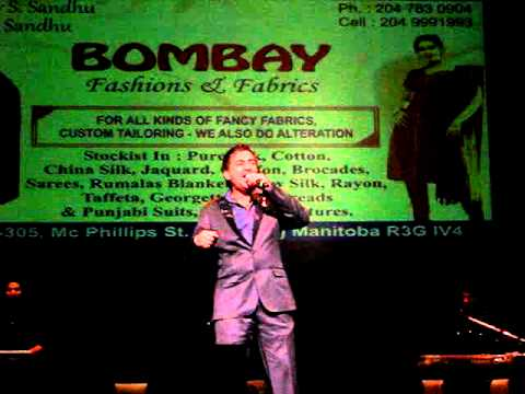 Sharry Mann - Yaar Anmulle - Live In Winnipeg, Mb - April 1st, 2011 video