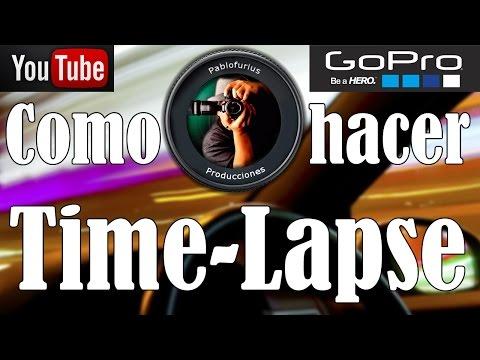 Como hacer Time-Lapse con GoPro Studio 2.0.1   @Pablofurius