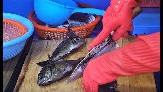 뭘 해도 맛있는 볼락, 뽈락 회뜨기 a gopher (rock cod); a rockfish, 无备平鲉, メバル[맛있겠다] It looks delicious