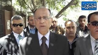 خريجو الحقوق امام الصحفيين لقيديهم بنقابة المحامين