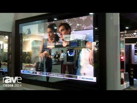 CEDIA 2014: Electic Mirror Details 84″ Screen TV Set