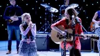 [[New Version]] Ho Hey // Nashville _ Lennon and Maisy (Lyrics on screen)