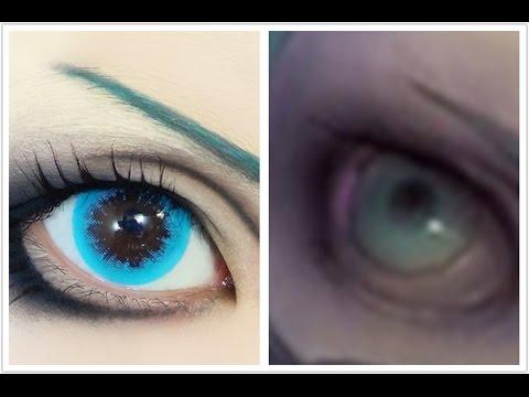 Anime Eyes Makeup Cosplay Tutorial Anime Eye Makeup 77