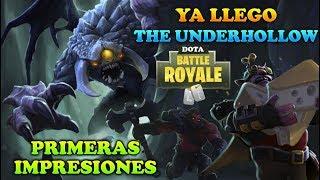 PRIMERAS IMPRESIONES DE THE UNDERHOLLOW (Battle Royale) 😱   Dota 2