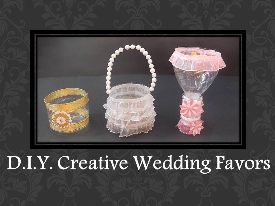 DIY Easy Creative Wedding Favors Ideas