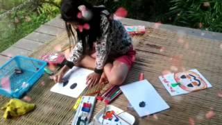 Little artist...:-)