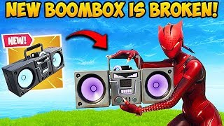 THE BOOMBOX IS SUPER OP! - Fortnite Funny Fails and WTF Moments! #427