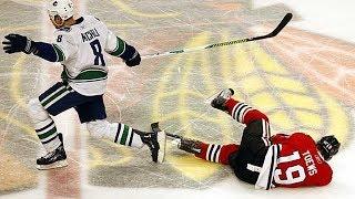 NHL: Dazed After Being Hit