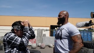 CT Fletcher - Behind the Scenes with SUPEReeeGO