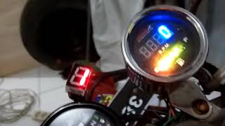 Test Persneling Digital Untuk Motor Home Made