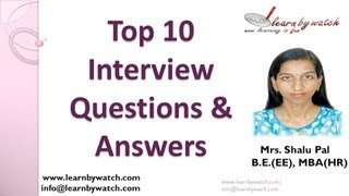 Top 10 Interview Questions and Answers - (Hindi / Urdu)