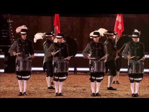 Top Secret Drum Corps 2016 Queen Elizabeth 2 90th Birthday
