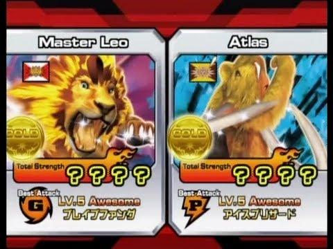 Master Anime Animal Kaiser Master Leo vs