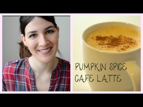 Pumpkin spice cafe latte  Receta fácil DY fall Starbucks drink