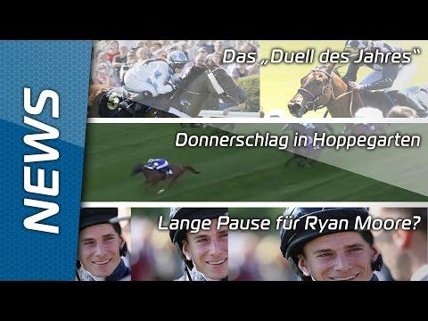 Sport-Welt TV News   17.07.2015   Sprint-Cup im Hoppegarten + Lange Pause für Ryan Moore