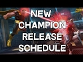 New Champion Release Schedule - Marvel Contest Of Champions