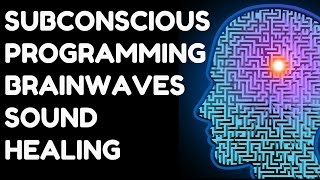 **WARNING** SUBCONSCIOUS PROGRAMMING BRAINWAVES FOR BRAIN HEALING & SUCCESS : VERY POWERFUL !