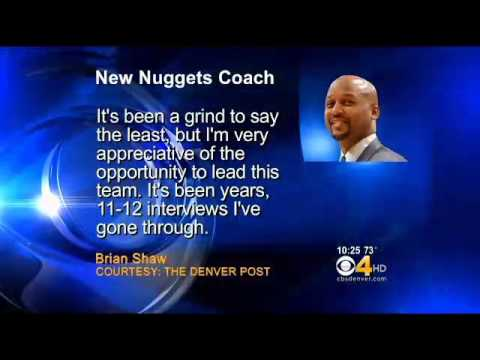 Denver Nuggets Hire Brian Shaw as Head Coach
