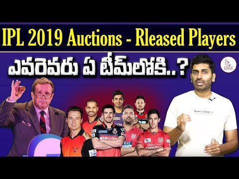 IPL Auction 2019 Live Updates, Players List | Released & Retained Players List | Eagle Media Works