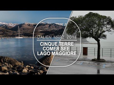 Cinque Terre, Comer See, Lago Maggiore (Mit dem Wohnmobil unterwegs)