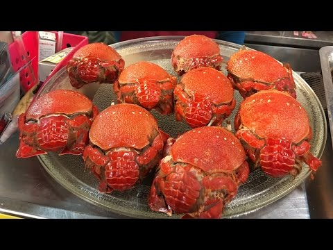 Taiwan Street Food Kona Crabs