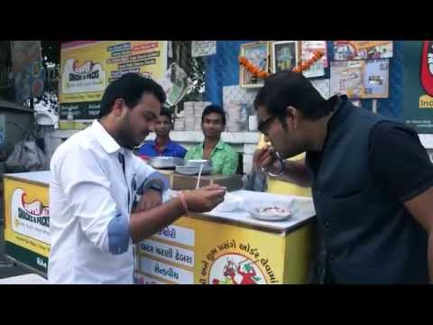 Cheese bhel | Yogurt cheese kachori | Ahmedabad | Street Food | Food Kulture