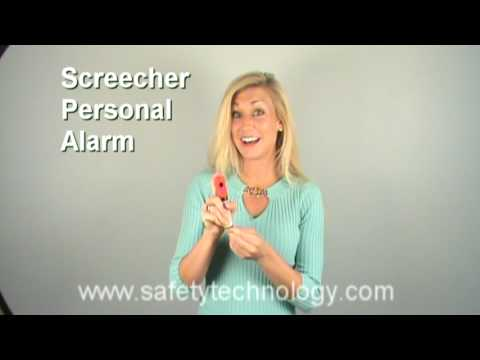 Mace Screecher® Aerosol Alarm - Hear the Mace Screecher® in action!