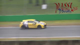 Monza Track Day 12-2-2017 - Crash Renault Clio RS & more