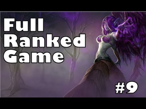 League of Legends - Ranked Commentary #9 (Morgana) [1534 ELO]