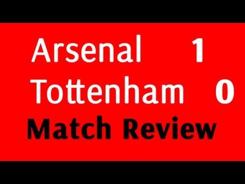 Arsenal vs Tottenham 1-0 2013/2014