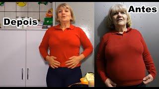 Limpar a gordura fiígado e Veia artérias Colesterol,  barriga e abdômen e estomago - Diva aos 50