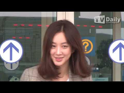 [TD영상]  정려원(Jung Ryeo won) '패셔니스타의 공항패션'