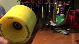 Orangatang In Heat longboard wheel REVIEW