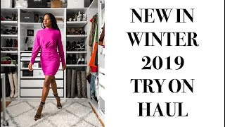 NEW IN WINTER 2019 HAUL: Luxury Bags, Holiday Dresses, Unboxings | MONROE STEELE