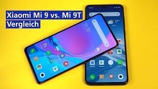 Xiaomi Mi 9 vs. Mi 9T im Vergleich (deutsch)